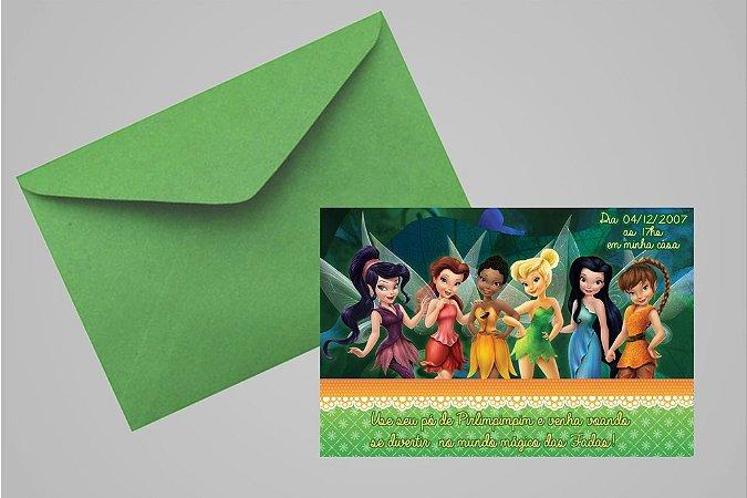 Convite 10x15 Fadas Disney 019