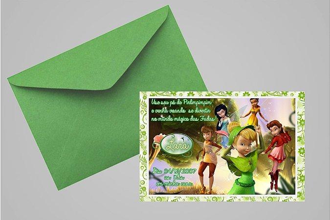 Convite 10x15 Fadas Disney 025