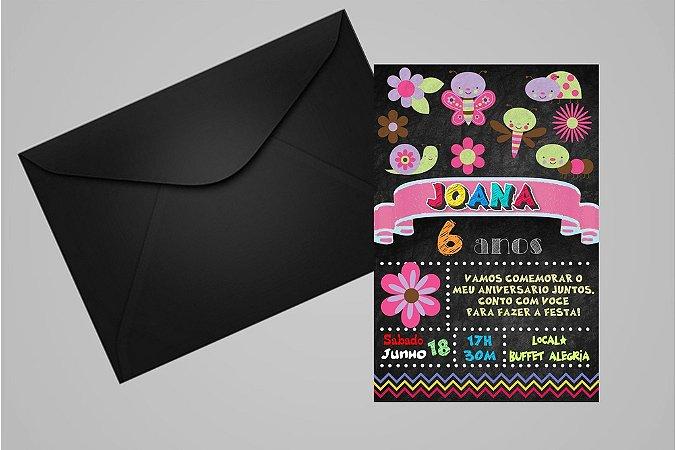 Convite 10x15 Jardim Encantado 009