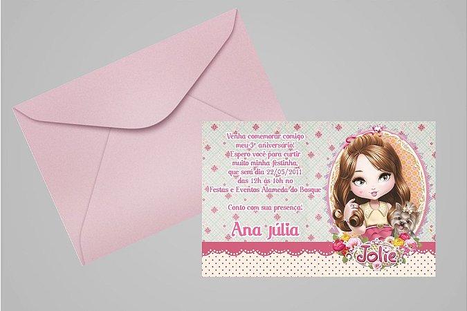 Convite 10x15 Jolie da Tilibra 005