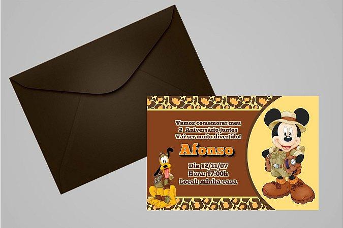 Convite 10x15 Mickey Safari 002