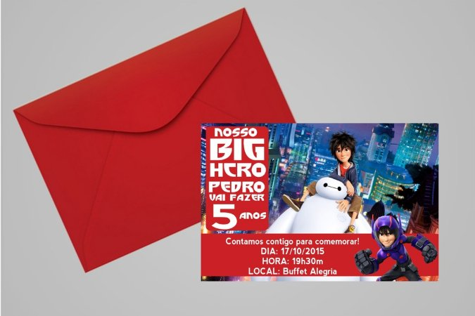 Convite 10x15 Operação Big Hero 004