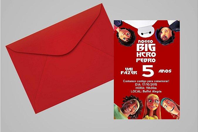 Convite 10x15 Operação Big Hero 008