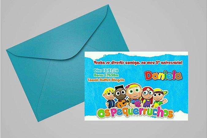 Convite 10x15 Os Pequerruchos 002
