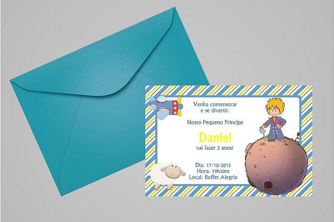 Convite 10x15 Pequeno Principe 004