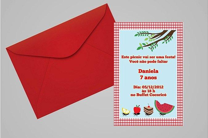 Convite 10x15 Picnic 001