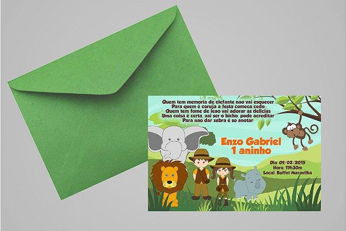 Convite 10x15 Safari 007