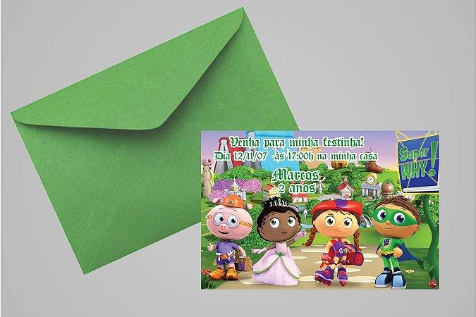 Convite 10x15 Super Why 003