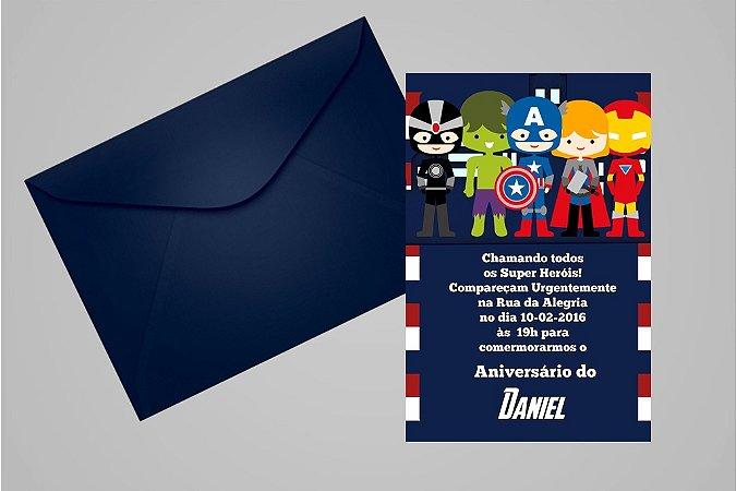 Convite 10x15 Vingadores 009