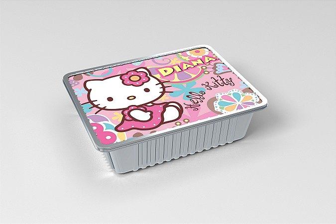 Marmitinha  personalizada Hello Kitty