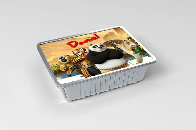 Marmitinha  personalizada Kung Fu Panda