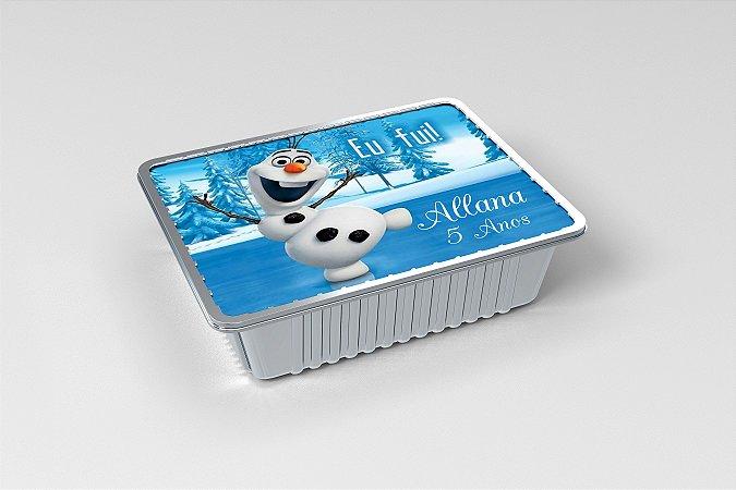 Marmitinha  personalizada Olaf Frozen