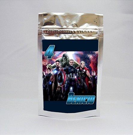 Saco Metalizado Vingadores 003