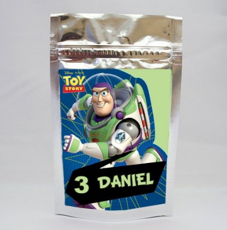 Saco Metalizado Buzz Lightyear