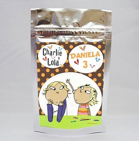 Saco Metalizado Charlie e Lola