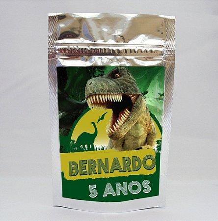 Saco Metalizado Dinossauros