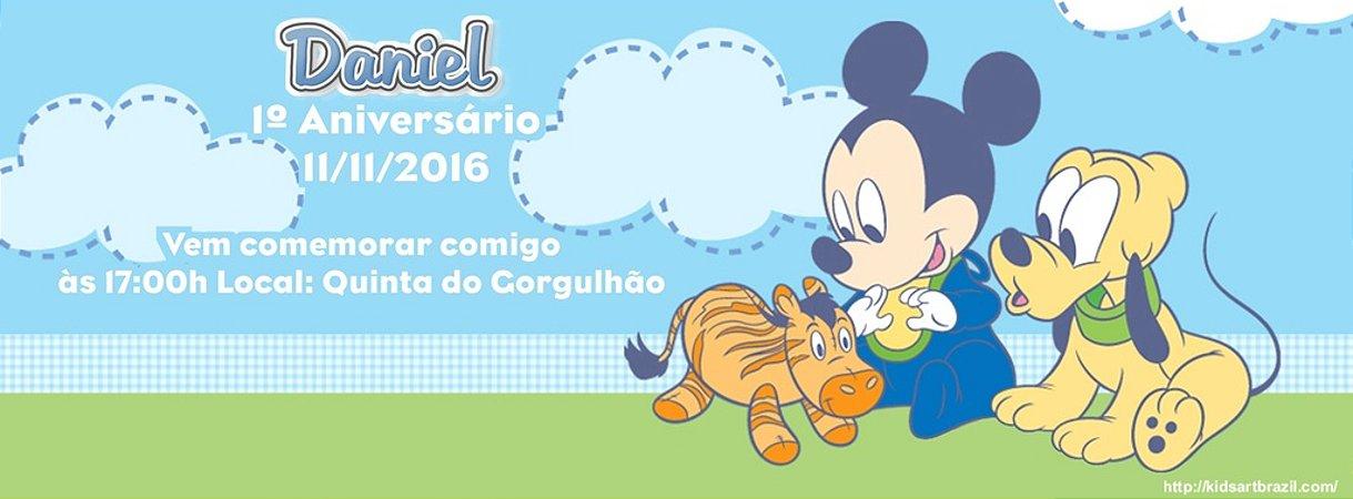 Convite personalizado para evento no facebook Baby Disney 001