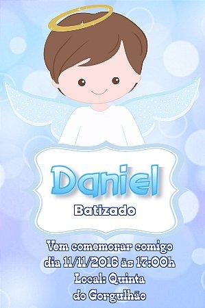 Convite digital personalizado Batizado 038