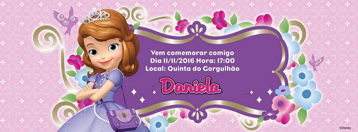 Convite personalizado para evento no facebook Princesa Sofia 002
