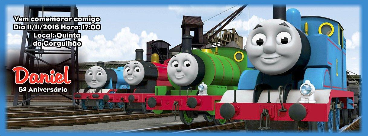 Convite personalizado para evento no facebook Thomas e Seus Amigos