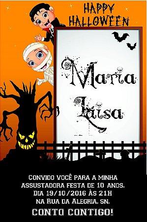Convite digital personalizado Halloween 020