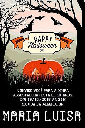 Convite digital personalizado Halloween 022
