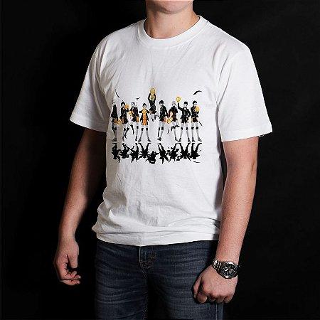 Camiseta Haikyuu 002 em Algodão