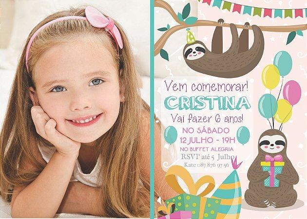 Convite digital personalizado de Aniversário 015
