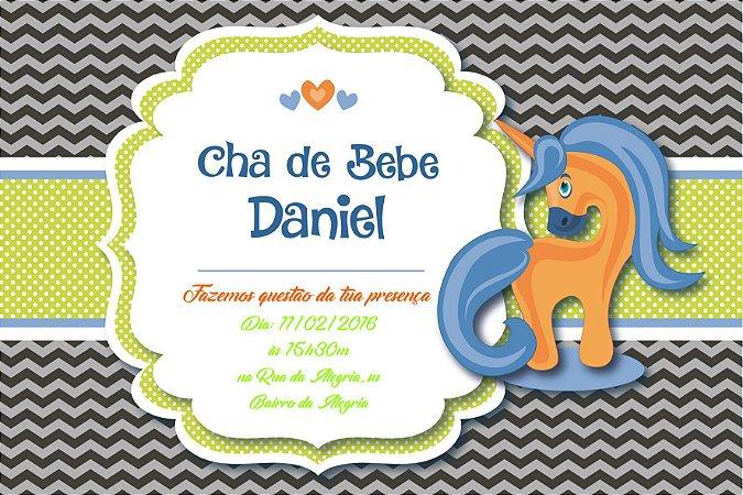 Convite digital personalizado para Chá de Bebê 064