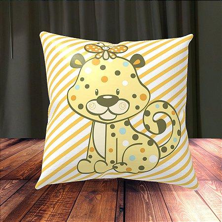 Almofada Personalizada para Festa Cheetah Baby