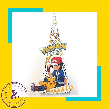 Caixa Cone Pokemon 2 com aplique 3D