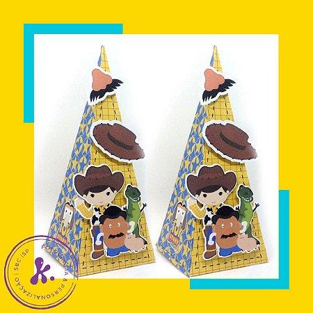 Caixa Cone Toy Story com aplique 3D
