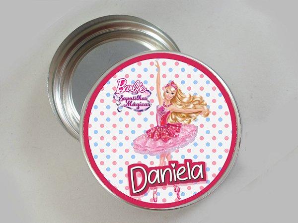 Embalagem com 20 adesivos Barbie Sapatilhas Magicas