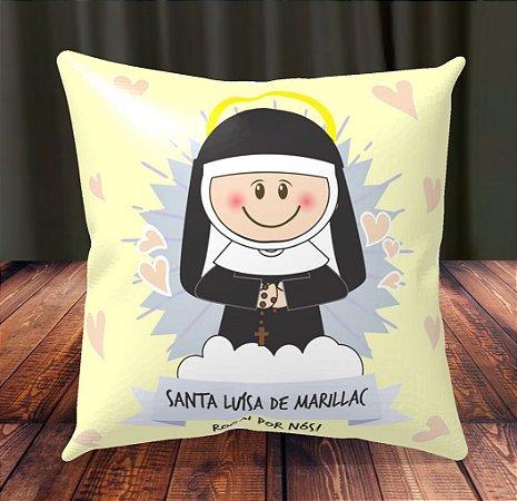Almofada Personalizada para Festa Santa Luísa de Marillac