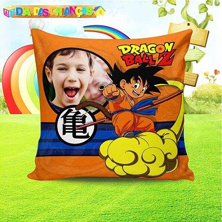Almofada quadrada Dragon Ball Z 1 com foto