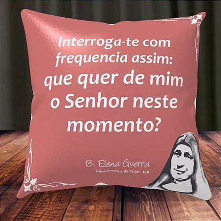 Almofada Personalizada para Festa Beata Elena Guerra 3