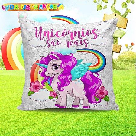 Almofada Personalizada para Festa Unicornio 5