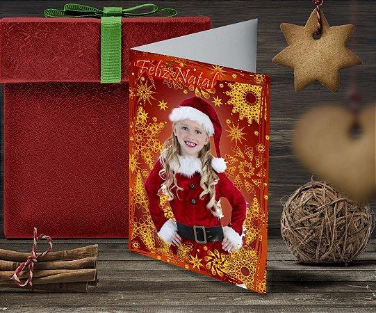 Cartão de Natal Personalizado Impresso 048