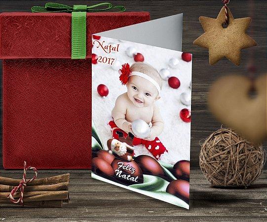 Cartão de Natal Personalizado Impresso 105