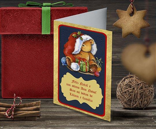 Cartão de Natal Personalizado Impresso 145
