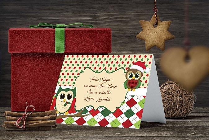 Cartão de Natal Personalizado Impresso 138