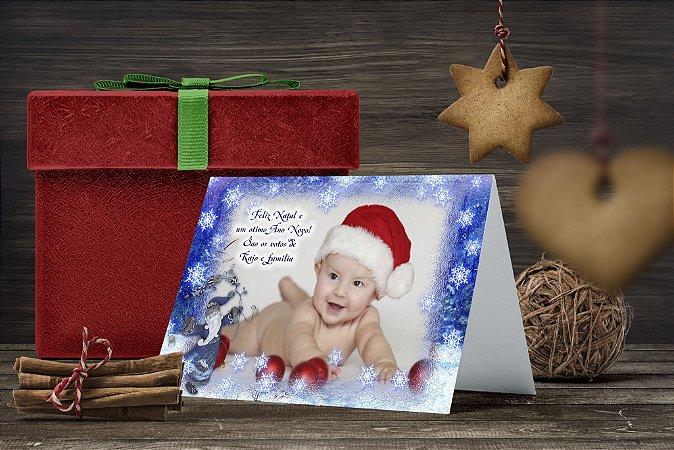 Cartão de Natal Personalizado Impresso 136