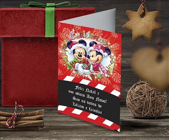 Cartão de Natal Personalizado Impresso 128
