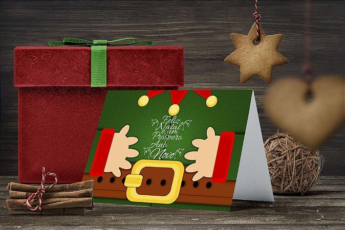 Cartão de Natal Personalizado Impresso 214