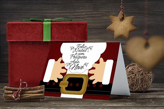 Cartão de Natal Personalizado Impresso 212