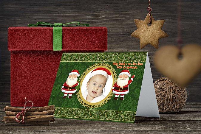 Cartão de Natal Personalizado Impresso 251