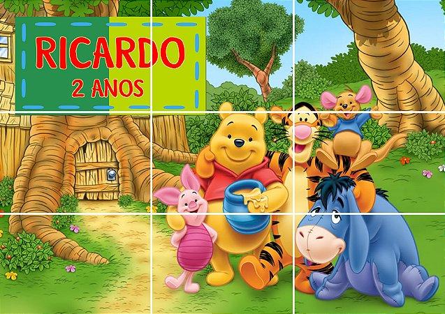 Painel personalizado Ursinho Pooh