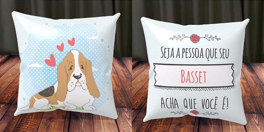 Almofada Personalizada - Cachorrinhos Basset 1