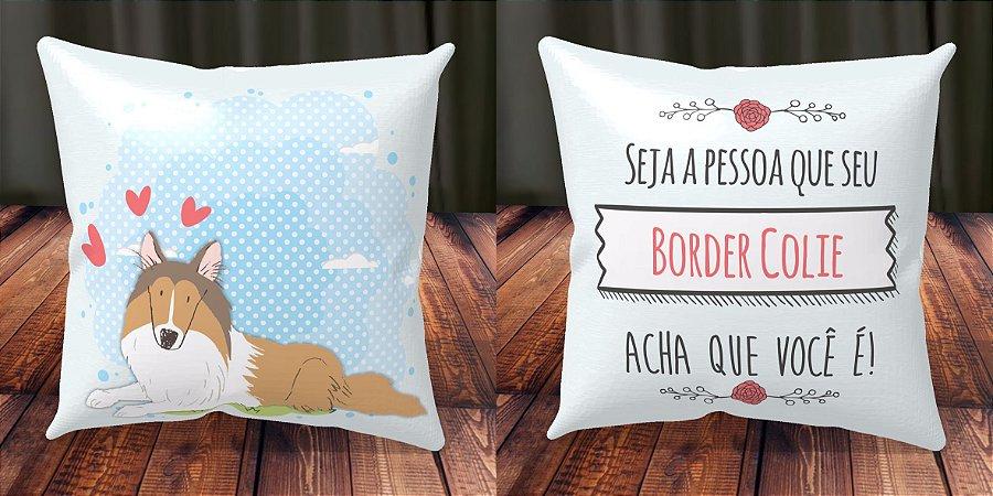 Almofada Personalizada - Cachorrinhos Border Colie 1
