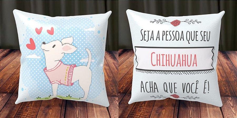 Almofada Personalizada - Cachorrinhos Chihuahua 3